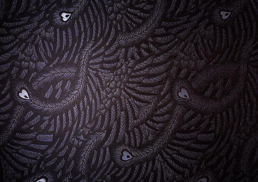fabric_phoenix_ブラック